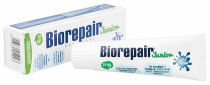 Зубная паста Biorepair Junior Mint детская со вкусом сладкой мяты от 7 до 14 лет
