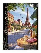 Пазл Рыжий кот Konigspuzzle Карл Уорнер Эйфелева башня (ХК500-8326), 500 дет.