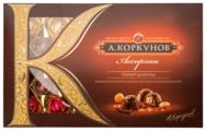 """Набор конфет Коркунов """"Ассорти"""" темный шоколад 256 г"""