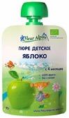 Пюре Fleur Alpine Яблоко (с 4 месяцев) 90 г, 6 шт