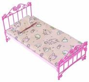 ОГОНЁК Кроватка с постельным бельем (С-1427)