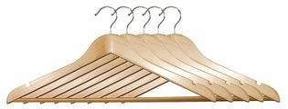 Вешалка Kesper Набор для брюк деревянные