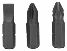 Бита Vira 554104 3 шт 25 мм SL1х6 PH2 PZ2