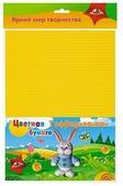 Цветная бумага гофрированная Зайчик Апплика, A4, 8 л., 8 цв.