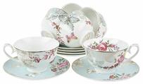 """Чайный сервиз Best Home Porcelain """"Иоланта"""" 12 предметов, 250 мл (подарочная упаковка)"""