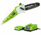 Высоторез аккумуляторный greenworks G24PS20K2 20 см
