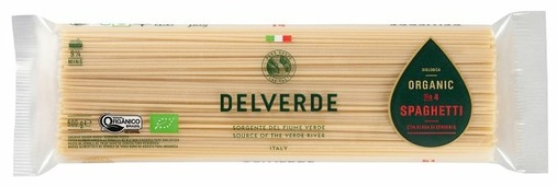 Delverde Industrie Alimentari Spa Макароны Biologica Organic № 4 Spaghetti, 500 г