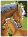 "Color Kit Картина по номерам ""С мамой"" 30х40 см (CE110)"