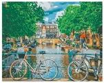 "Рыжий кот Картина по номерам ""Канал в Амстердаме"" 40х50 см (PP069)"