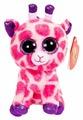Мягкая игрушка ABtoys Жираф розовый 15 см