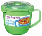 Sistema Кружка для супа Large Soup Mug Colour 21141