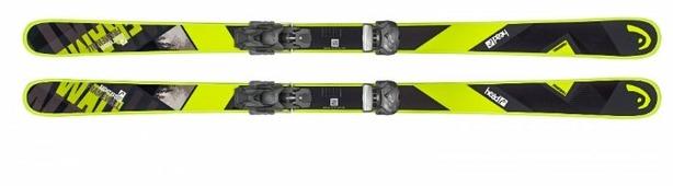 Горные лыжи HEAD Frame Wall с креплениями Attack² 13 GW (18/19)
