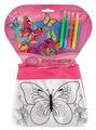 MultiArt Набор для росписи сумки Цветы и Бабочки (ST-1506-BTF)