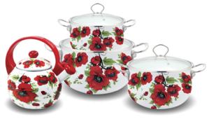Набор посуды Kelli KL-4415/4416/4442/4443/4444/4445/4446 7 пр.