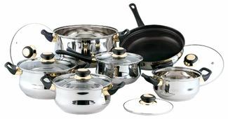 Набор посуды Bekker Classic BK-224 / BK-226 12 пр.