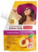 Fito косметик Народные рецепты солнцезащитный крем-гель для лица и тела Освежающий SPF 20