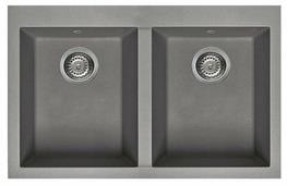 Врезная кухонная мойка elleci Quadra 350 79х50см искусственный гранит