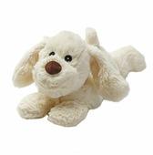 Игрушка-грелка Warmies Cozy plush Щенок кремовый 18 см