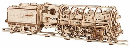 Сборная модель UGEARS Локомотив