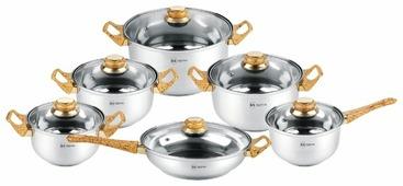 Набор посуды Rainstahl 1230-12RS/CW 12 пр.