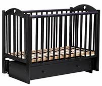 Кроватка Малика Laura-3 (маятник, ящик)