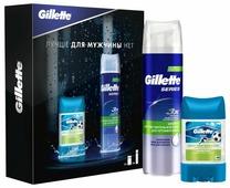 Набор Gillette Пена для бритья и гелевый антиперспирант-дезодорант