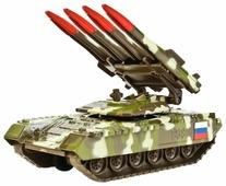 Ракетная установка ТЕХНОПАРК SB-16-19-BUK-M-WB 12 см