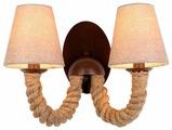 Настенный светильник Arte Lamp Corda A8958AP-2BR