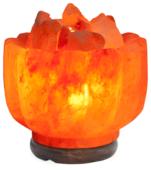 Солевая лампа Stay Gold Ваза с камнями