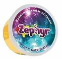 Масса для лепки Zephyr неоновая оранжевая с блёстками 150 г (00-00000864)