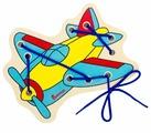 Шнуровка Alatoys Самолетик (ШН30)