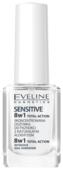 Средство для ухода Eveline Cosmetics Sensitive Здоровые ногти 8 в 1