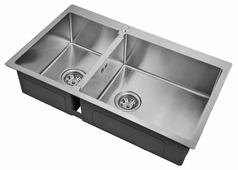 Врезная кухонная мойка ZorG INOX R 78-2-51-R 78х51см нержавеющая сталь