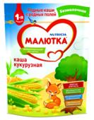 Каша Малютка (Nutricia) безмолочная кукурузная (с 5 месяцев) 200 г