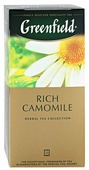Чайный напиток травяной Greenfield Rich Camomile в пакетиках