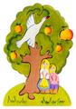 Пазл Сказки дерева Гуси-лебеди яблоня (08023), 8 дет.