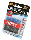 Аккумулятор Ni-Mh 2850 мА·ч ROBITON AA R6 Mignon 2850
