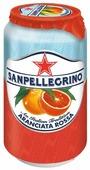 Газированный напиток Sanpellegrino Aranciata Rossa Красный апельсин