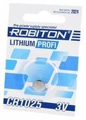 Батарейка ROBITON Lithium Profi CR1025