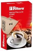 Одноразовые фильтры для капельной кофеварки Filtero Classic Размер 4