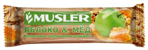 Злаковый батончик Musler Яблоко и мед, 30 г
