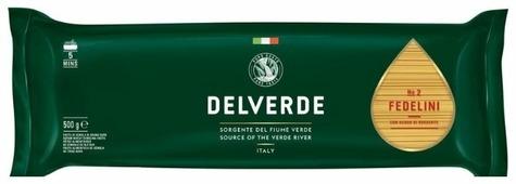 Delverde Industrie Alimentari Spa Макароны № 2 Fedelini, 500 г
