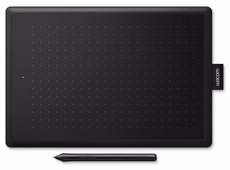 One by Wacom Small [ CTL-472-N ] Black&Red