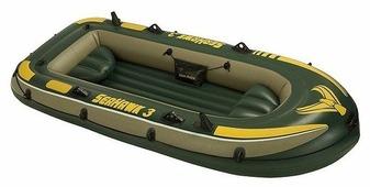 Надувная лодка Intex Seahawk-III (68380)
