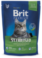 Корм для стерилизованных кошек Brit Premium