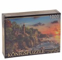 Пазл Рыжий кот Konigspuzzle Маяк у моря (МГК1000-6460), 1000 дет.