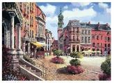 "Белоснежка Картина по номерам ""Шарлеруа. Бельгия"" 40х50 см (629-AB)"