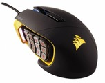 Мышь Corsair Scimitar PRO RGB Gaming Mouse Yellow-Black USB