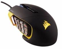 Мышь Corsair Scimitar PRO RGB Gaming Mouse Yellow-Black USB