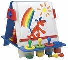 Доска для рисования детская Alex настольный 3 в 1 (22WN)